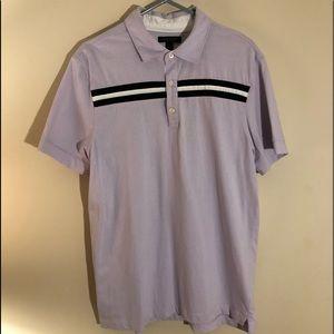 Banana republic lavender shirt